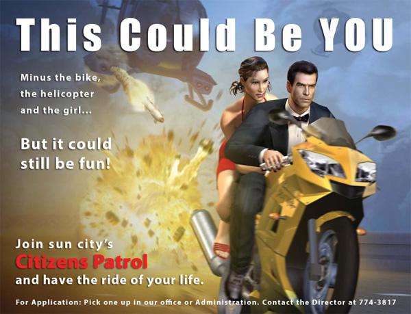 Recruitment Poster, James Bond