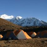Camp along the Singalila Ridge